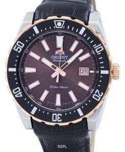 スポーティな自動 FAC09002T メンズ腕時計をオリエントします。
