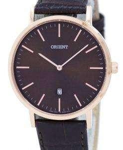 東洋スリム コレクション シンプルな水晶 FGW05001T メンズ腕時計
