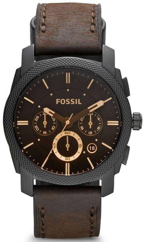 化石機械クロノグラフ FS4656 メンズ腕時計