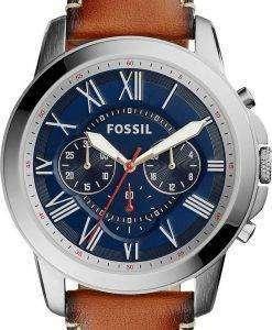 化石を与えるクロノグラフ クォーツ FS5210 メンズ腕時計