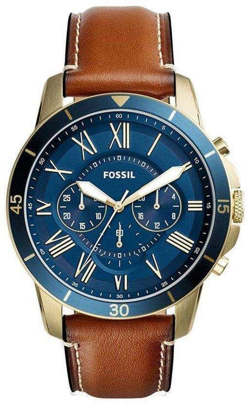 化石グラント スポーツ クロノグラフ クォーツ FS5268 メンズ腕時計
