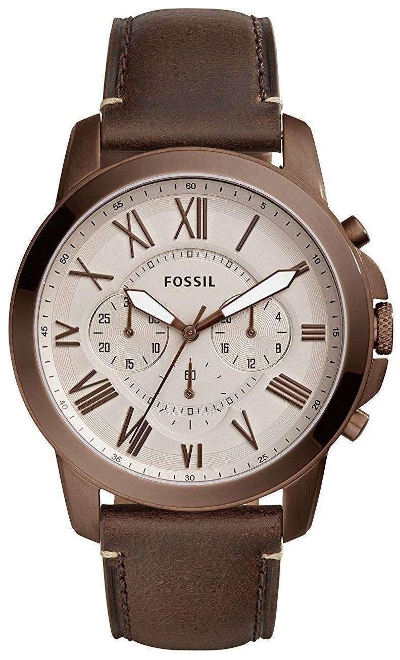 化石を与えるクロノグラフ クォーツ FS5344 メンズ腕時計