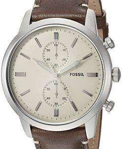 化石町民クロノグラフ クォーツ FS5350 メンズ腕時計