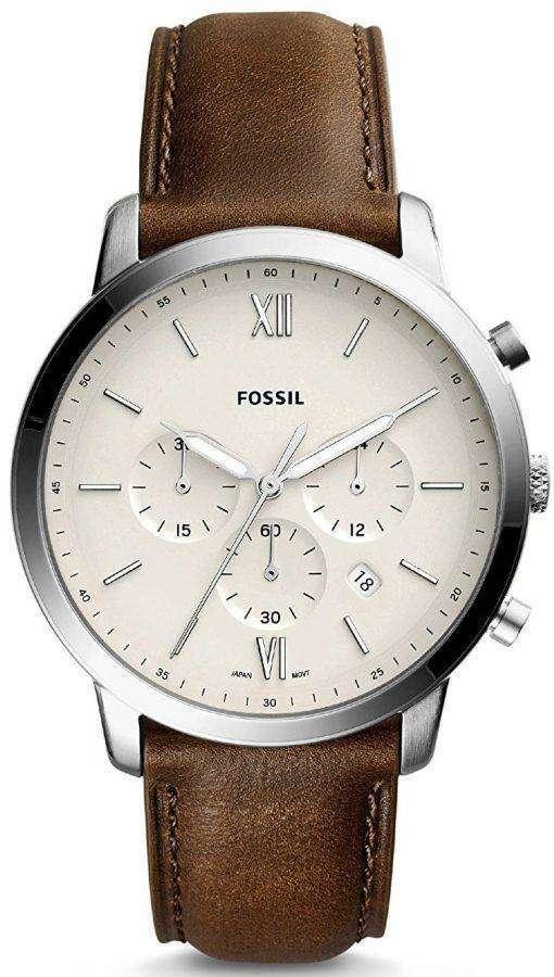 化石ノイトラ クロノグラフ クォーツ FS5380 メンズ腕時計