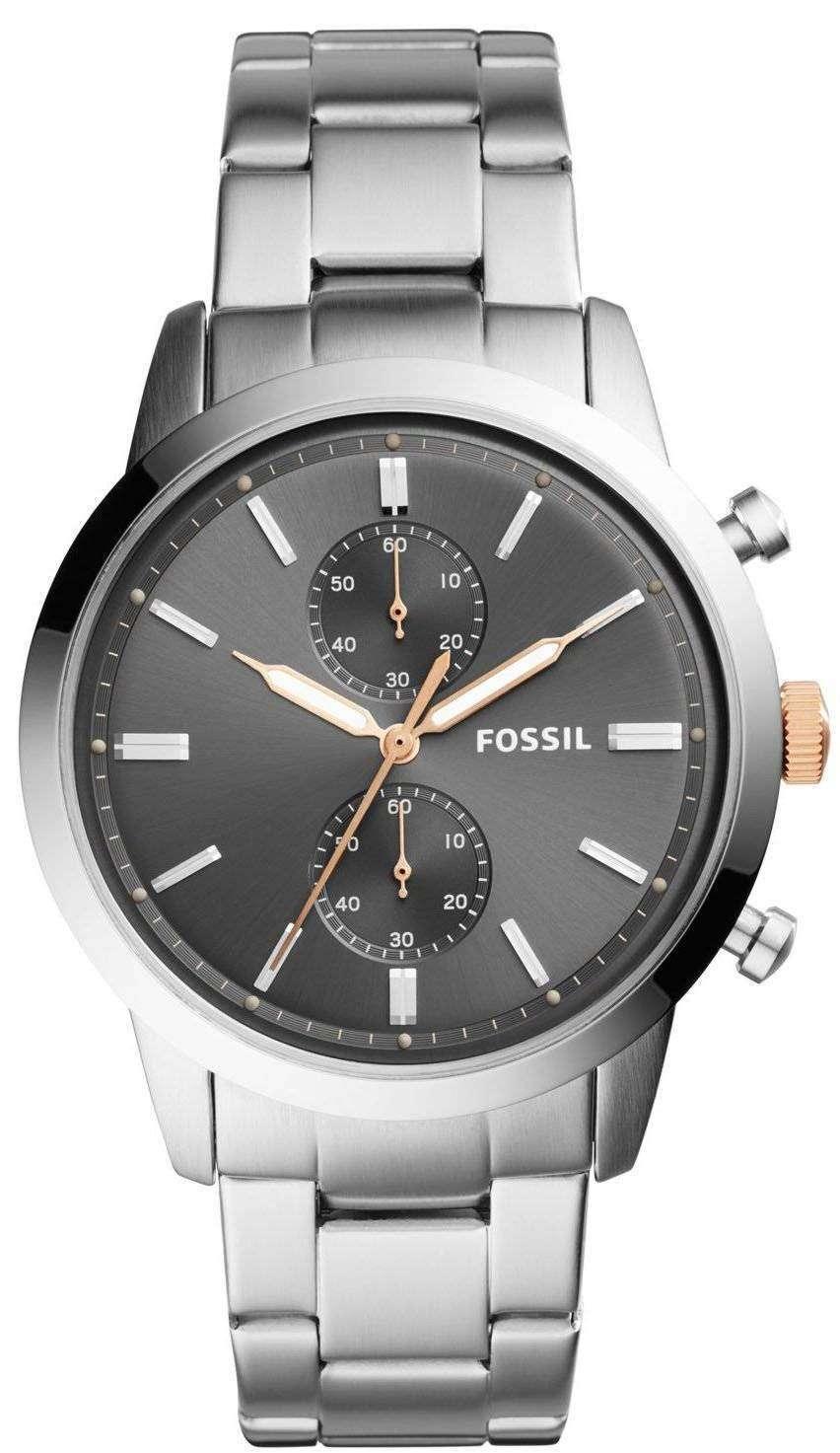 化石町民クロノグラフ クォーツ FS5407 メンズ腕時計