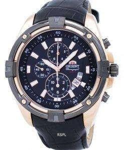 オリエント クロノグラフ クオーツ FTT0Y004B0 メンズ時計