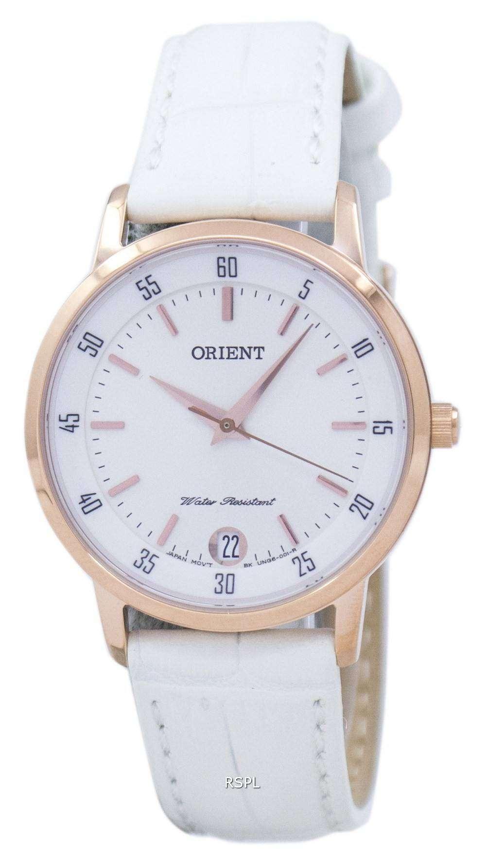 オリエント クオーツ FUNG6002W0 レディース腕時計