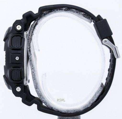カシオ迷彩シリーズ アナログ デジタル GA-100CF-1 a メンズ腕時計