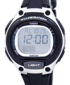 カシオ照明デュアル タイム アラーム デジタル LW-203-1AV LW203-1AV レディース腕時計