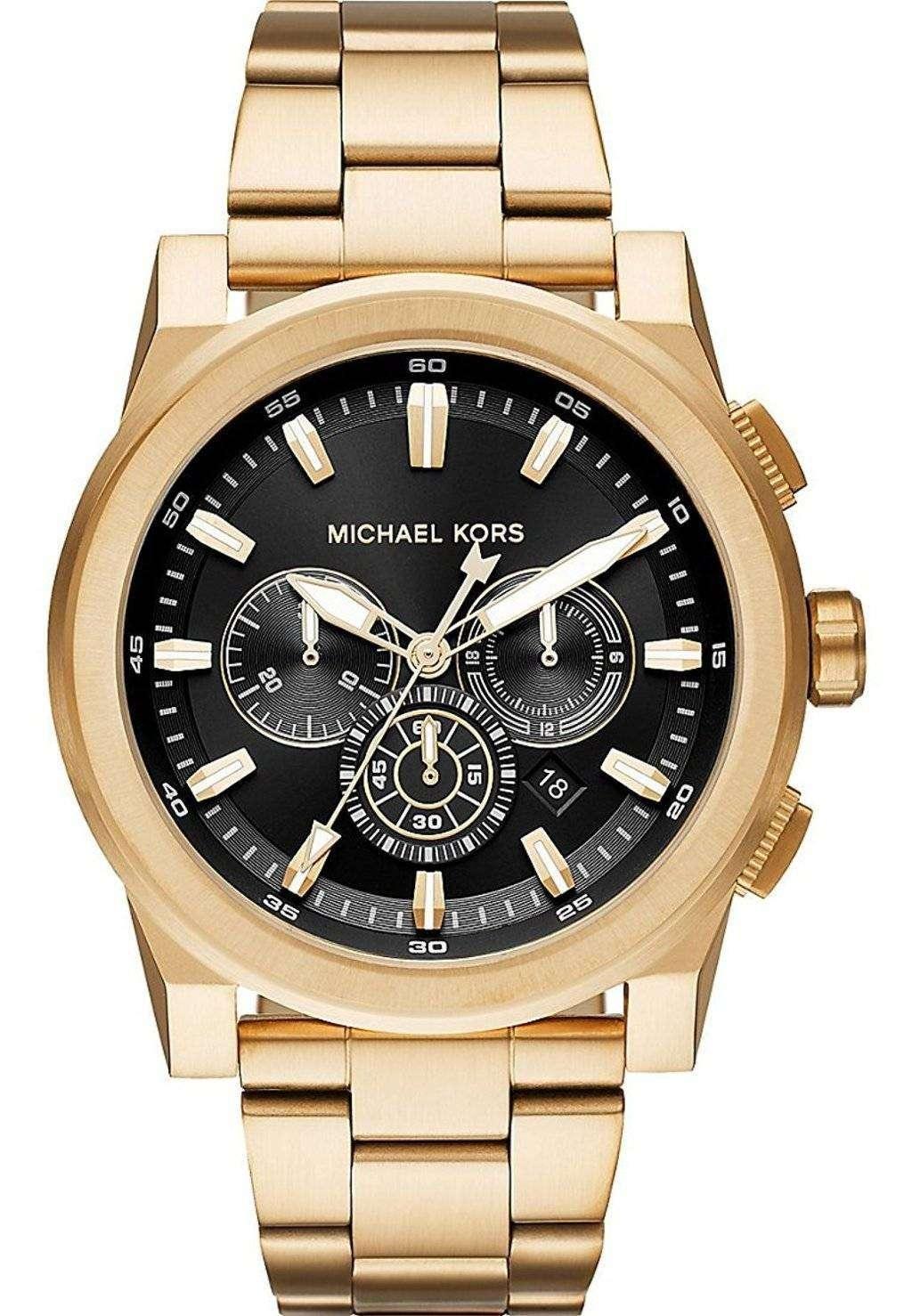 ミハエル Kors グレイソン クロノグラフ クォーツ MK8599 メンズ腕時計