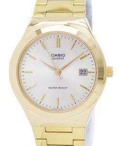 カシオ石英アナログ ゴールド トーン ダイヤル MTP 1170N 9ARDF MTP 1170N 9AR メンズ腕時計
