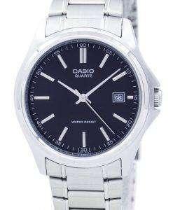 カシオ石英アナログ ステンレス黒ダイヤル MTP 1183A 1ADF MTP-1183A-1 a メンズ腕時計