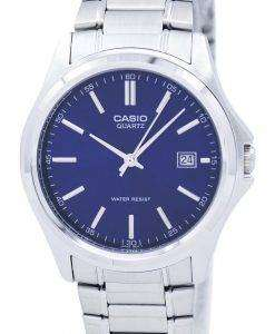 カシオ石英アナログ ステンレス ブルー ダイヤル MTP 1183A 2ADF MTP-1183A-2 a メンズ腕時計