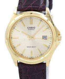 カシオ石英アナログ ゴールド ダイヤル MTP 1183Q 9ADF MTP 1183Q 9A メンズ腕時計