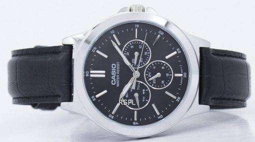 カシオ Enticer アナログ クオーツ MTP V300L 1AUDF MTPV300L 1AUDF メンズ腕時計
