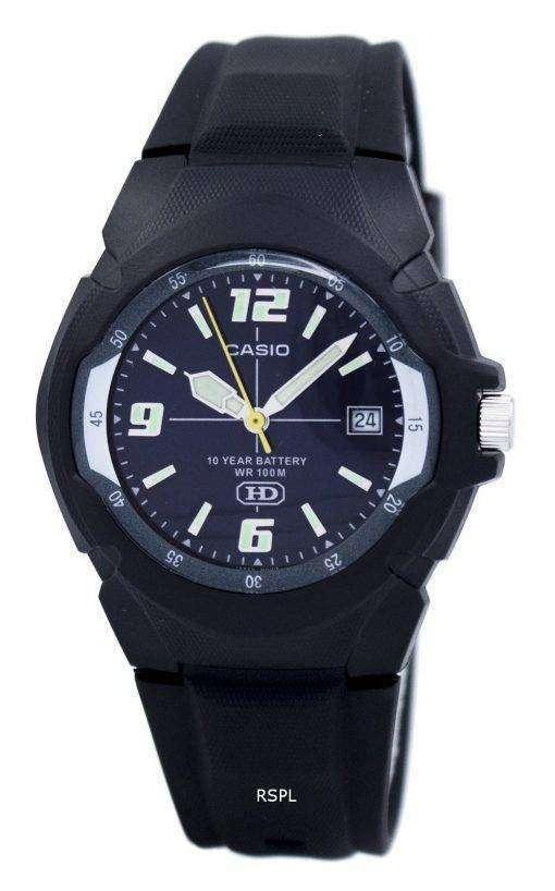 カシオ Enticer アナログ MW 600 f 2AVDF MW 600 f 2AV 男性用の腕時計