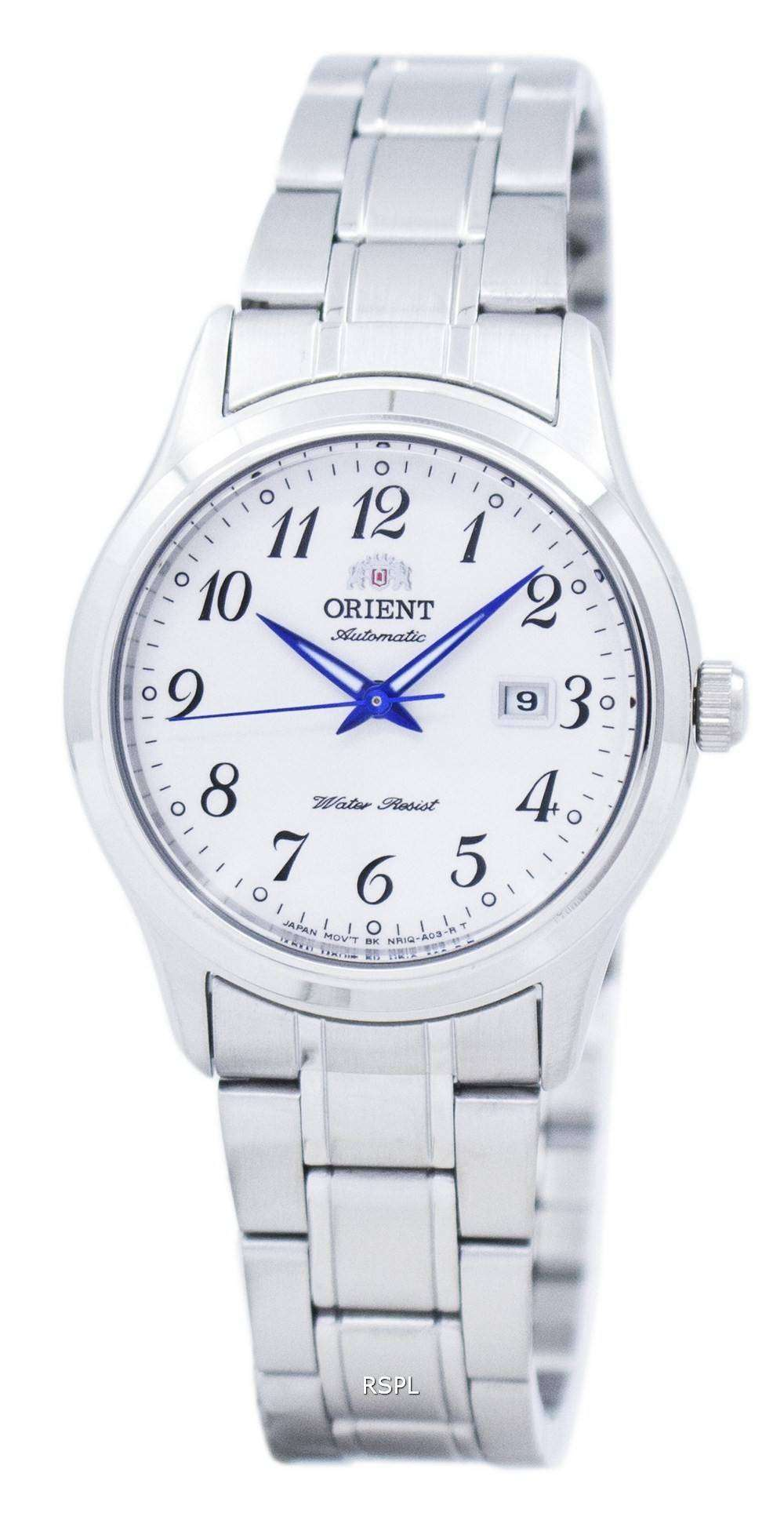 オリエント シャーリーン クラシック自動 NR1Q00AW レディース腕時計