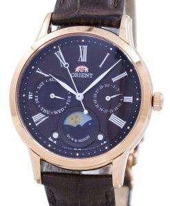 東洋の古典的な水晶 'サン ・ ムーン」日本製 RA KA0002Y00C レディース腕時計