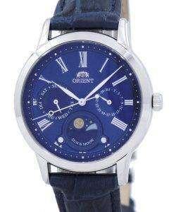 東洋の古典的な水晶 'サン ・ ムーン」日本製 RA KA0004L00C レディース腕時計