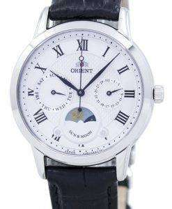 東洋の古典的な水晶 'サン ・ ムーン」日本製 RA KA0006S00C レディース腕時計
