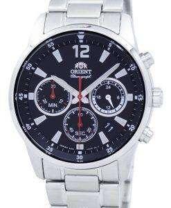 オリエント スポーツ クロノグラフ クォーツ日本製 RA KV0001B00C メンズ腕時計