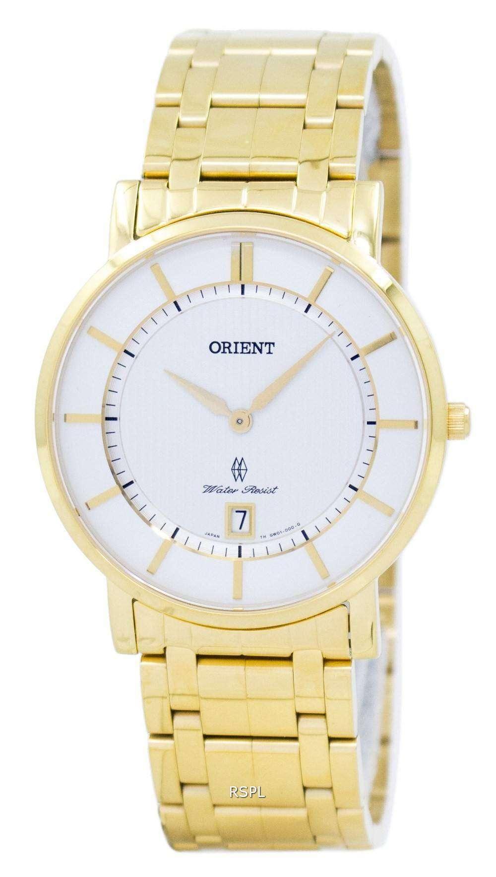 オリエント クラシック クラス水晶 SGW01001W0 メンズ時計