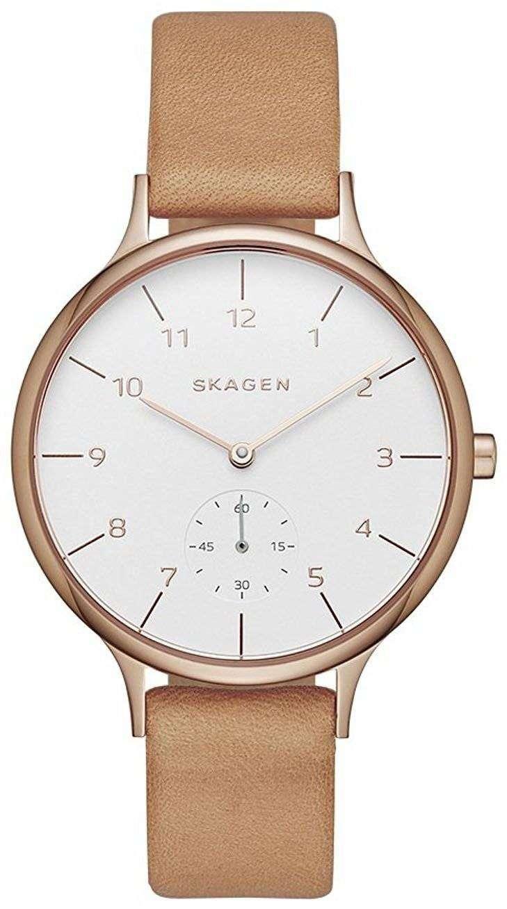 スカーゲン アニタ石英 SKW2405 レディース腕時計