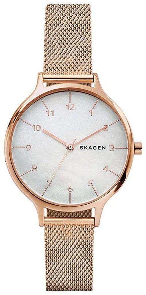 スカーゲン アニタ石英 SKW2633 レディース腕時計