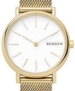 スカーゲン署名スリム石英 SKW2693 レディース腕時計