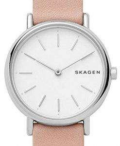 スカーゲン署名スリム石英 SKW2695 レディース腕時計
