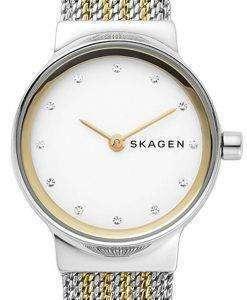 スカーゲン Freja 水晶ダイヤモンド アクセント SKW2698 レディース腕時計