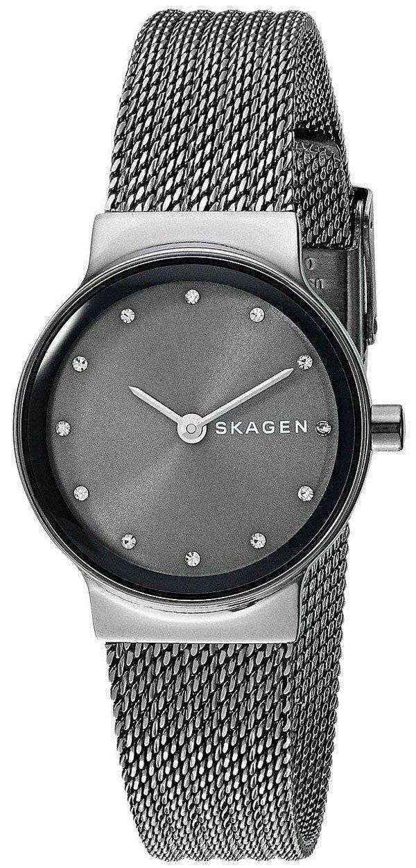 スカーゲン Freja 水晶ダイヤモンド アクセント SKW2700 レディース腕時計