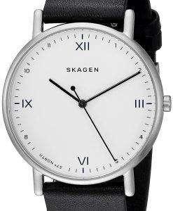 スカーゲン x Playtype 署名石英 SKW6412 メンズ腕時計