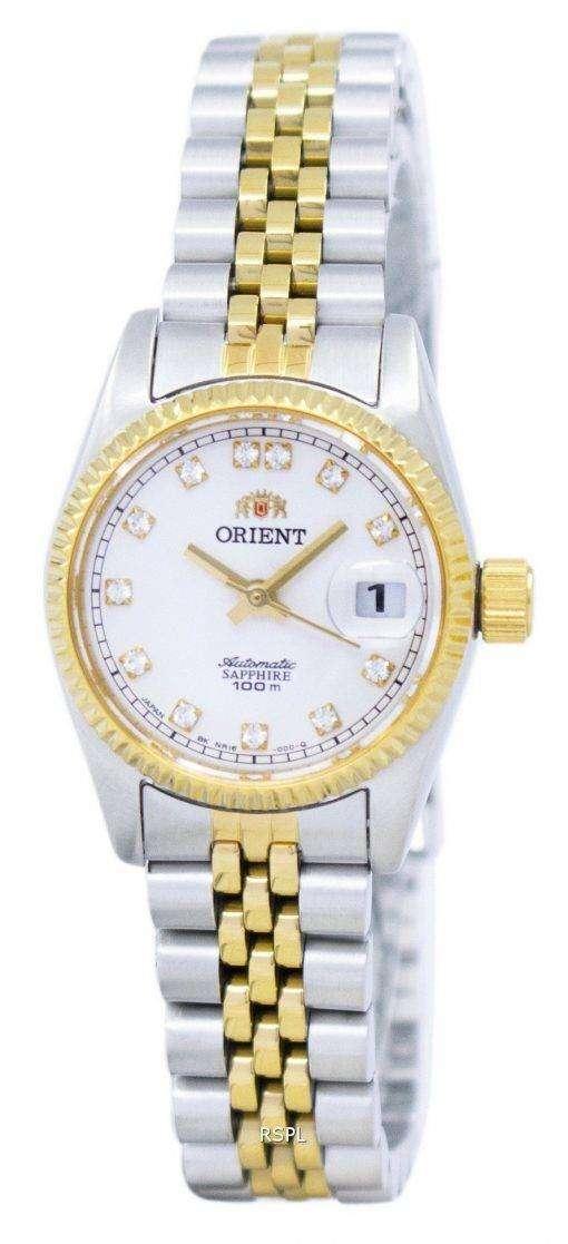 オイスター自動ダイヤモンド アクセント SNR16002W レディース腕時計をオリエントします。