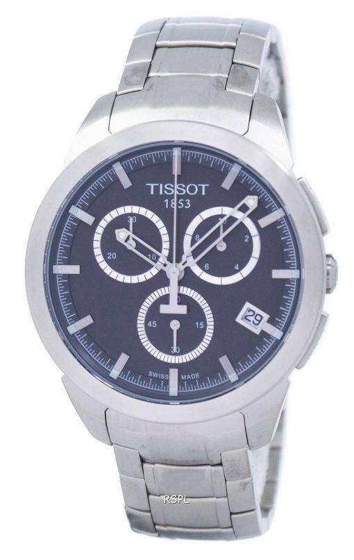 ティソ T-スポーツ チタン クロノグラフ クォーツ T069.417.44.061.00 T0694174406100 メンズ腕時計
