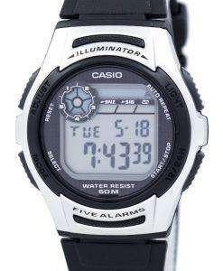カシオ青年照明デュアル タイム デジタル W-213-1AV W213 1AV メンズ腕時計
