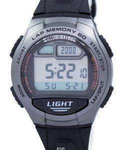 カシオ青年照明デュアル タイム デジタル W-734-1AV W734-1AV メンズ腕時計