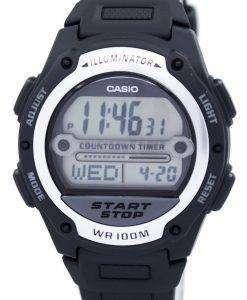 カシオ照明世界時間デジタル W-756-1AV W756 1AV メンズ腕時計