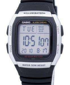 カシオ青少年デジタル アラーム クロノ照明 W 96 H 1AVDF W 96 H 1AV メンズ腕時計