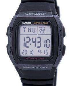 カシオ青少年デジタル照明 W 96 H 1BVDF W 96 H 1BV メンズ腕時計