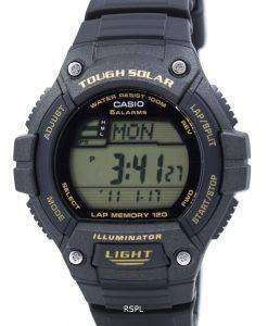 カシオ青少年デジタルの厳しい太陽 5 アラーム W S220 9AVDF メンズ腕時計