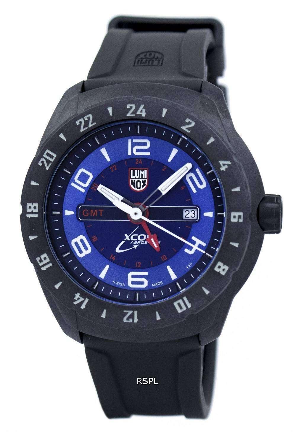 ルミノックス XCOR 航空宇宙 GMT 5020 シリーズ水晶 XU.5023 メンズ腕時計
