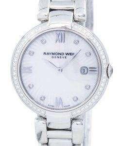 レイモンドウェイル輝きダイヤモンド アクセント石英 1600-STS-00995 レディース腕時計