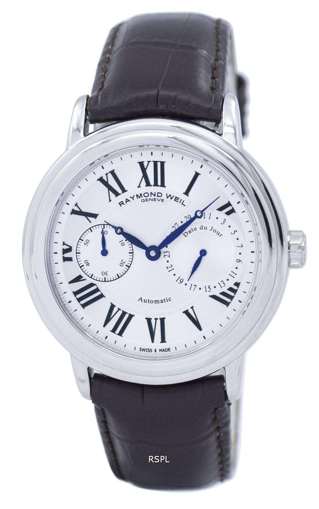 レイモンドウェイル マエストロ自動 2846 STC 00659 男性用の腕時計