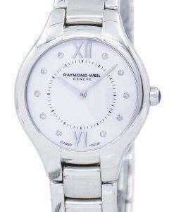 レイモンドウェイル Noemia ダイヤモンド アクセント石英 5127-セント-00985 レディース腕時計