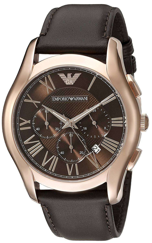 エンポリオアルマーニ クラシック レトロなクロノグラフ クォーツ AR1701 メンズ腕時計