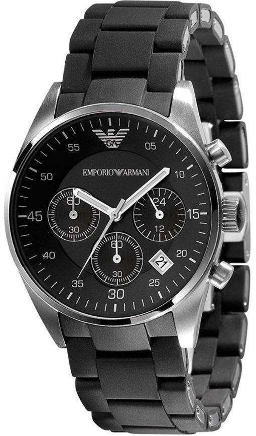 エンポリオ アルマーニ クロノグラフ クオーツ AR5868 ユニセックス腕時計