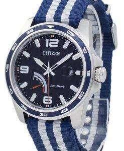 PRT シチズンエコ ドライブ パワー リザーブ AW7038-04 L メンズ腕時計