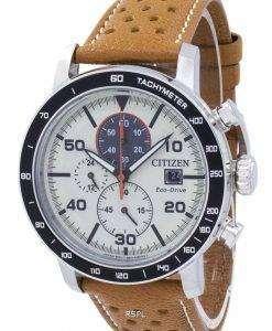 市民エコ ・ ドライブ クロノグラフ タキメーター CA0641 - メンズ腕時計 X 16