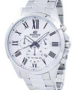 カシオ エディフィス クロノグラフ クォーツ低公害車 500 D 7AV EFV500D 7AV メンズ腕時計
